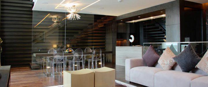 Welke lampen horen bij een moderne woonkamer?